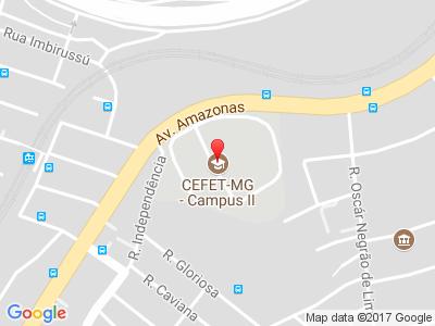 Localização - CEFET-MG - Campus II - Mapa